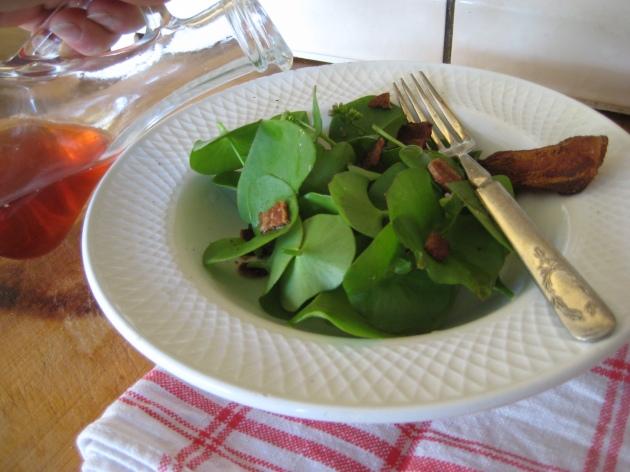 Albright-Souza Miner's Lettuce Salad 1954