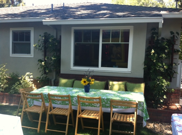 Albright-Souza Garden Seating Banquet