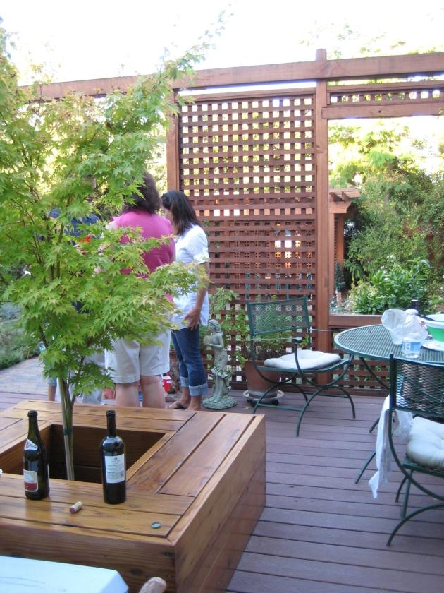 Albright-Souza Garden Seating Deck
