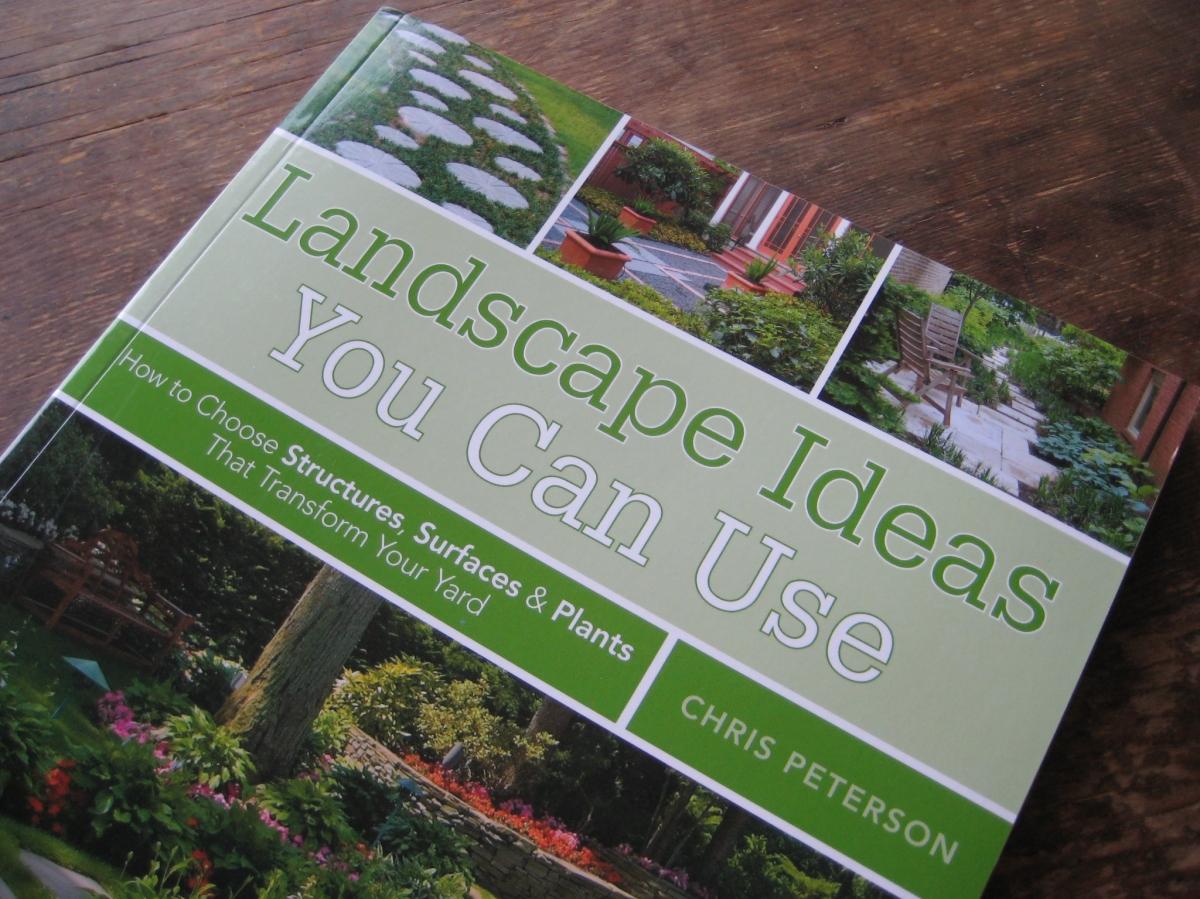 Landscape ideas you can use the book per joy for Garden design ideas book