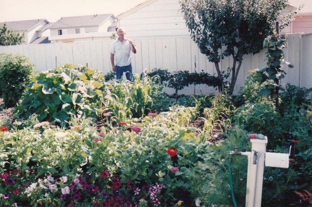 Frank Souza's garden