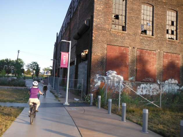 Detroit streetscene