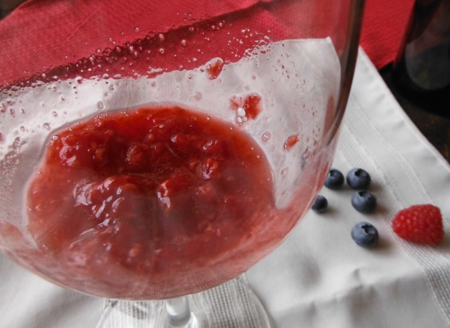 perjoy easy muddled raspberries