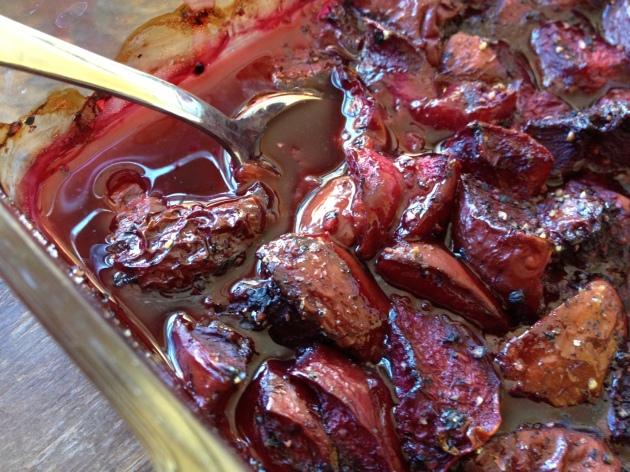 Perjoy Black Pepper Roasted Plums