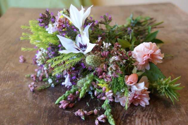 Late Summer Bouquet with Callianthus