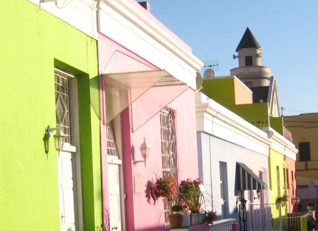 Bo-Kaap Cape Town Pastel Houses