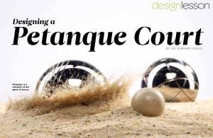 Petanque for The Designer