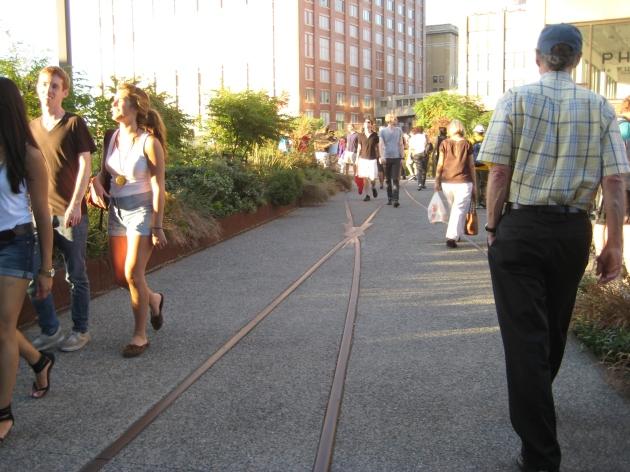 High Line path design