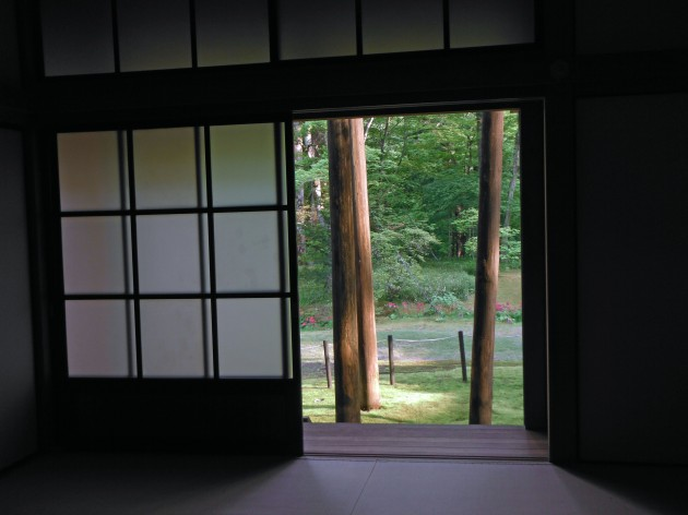 Tamozawa door view