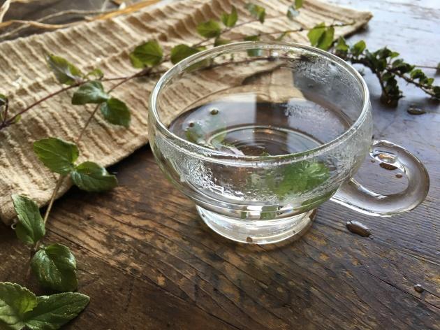 yerba buena tea cup