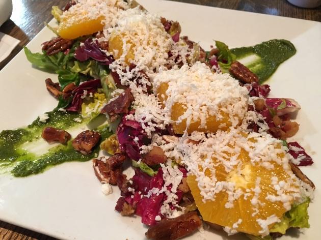 citrus radicchio salad