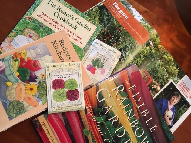 edible collage Creasy Shepherd seeds books