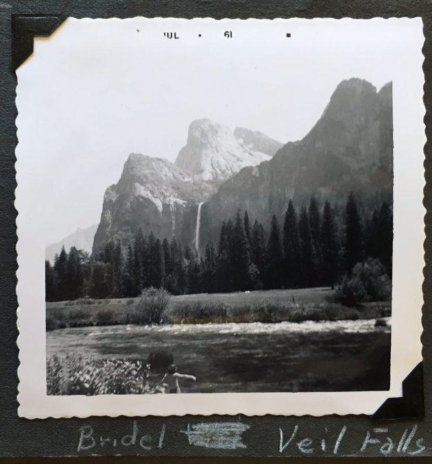Vintage Yosemite Bridal Veil Falls