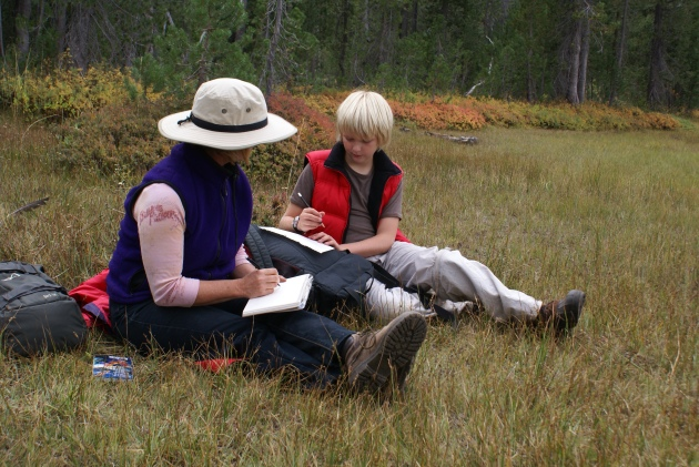 Lassen meadow Joy with Blake