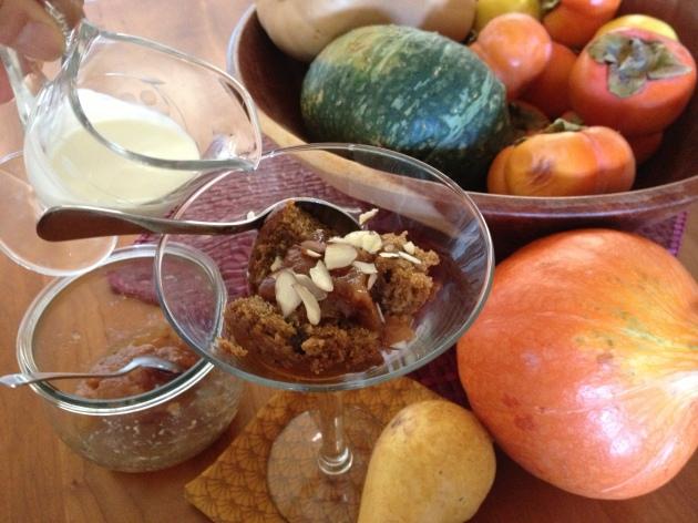 fall holiday dessert trifle