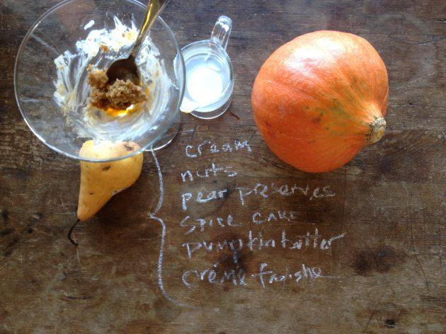 fall spice trifle dessert recipe